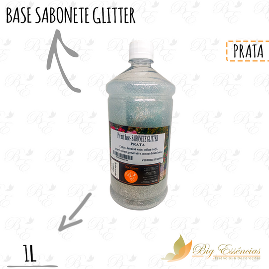 BASE SABONETE GLITTER 1 L