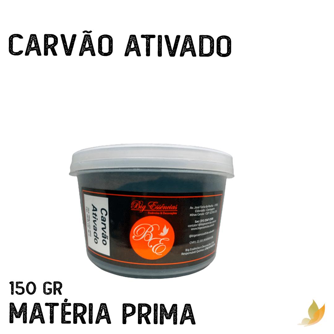 CARVAO VEGETAL ATIVADO 150 G