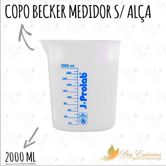 COPO BECKER MEDIDOR S/ ALCA 2000 ML