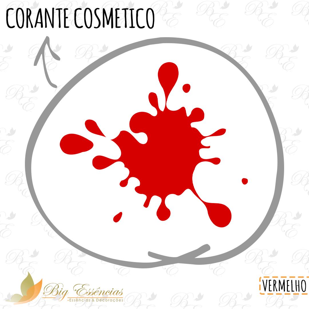 CORANTE COSMETICO VERMELHO 90 G