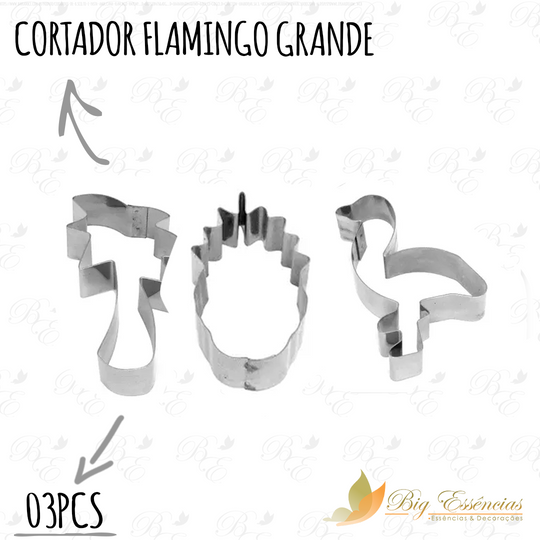 CORTADOR FLAMINGO GRANDE 03 PCS