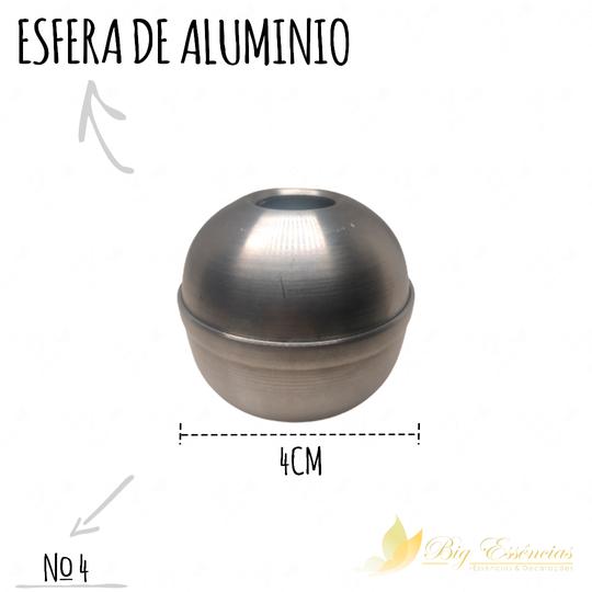 ESFERA DE ALUMINIO 4 CM