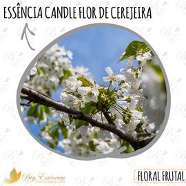 ESSENCIA CANDLE FLOR DE CEREJEIRA