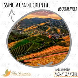 ESSENCIA CANDLE GREEN LIFE