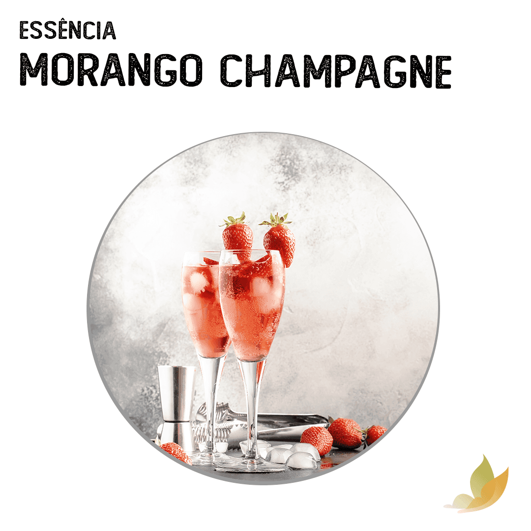 ESSENCIA MORANGO CHAMPAGNE