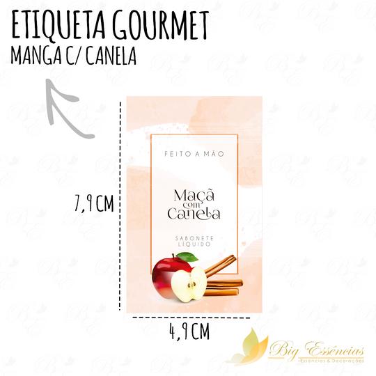 ETIQUETA MAÇA COM CANELA SABONETE LIQUIDO PDF