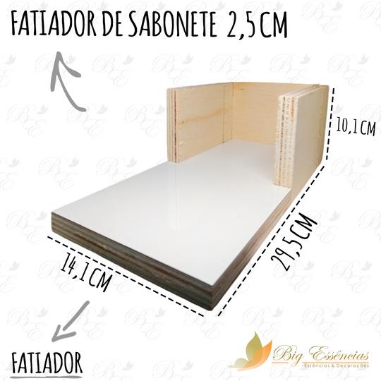FATIADOR DE SABONETE 2,5 CM