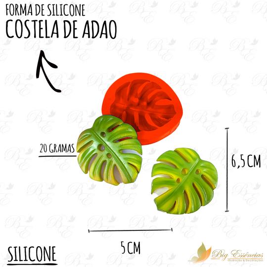 FORMA DE SILICONE COSTELA DE ADAO