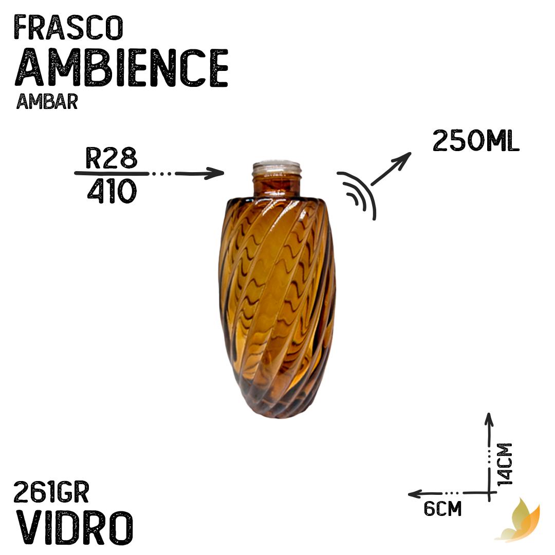 FRASCO AMBIENCE R28 AMBAR 250ML