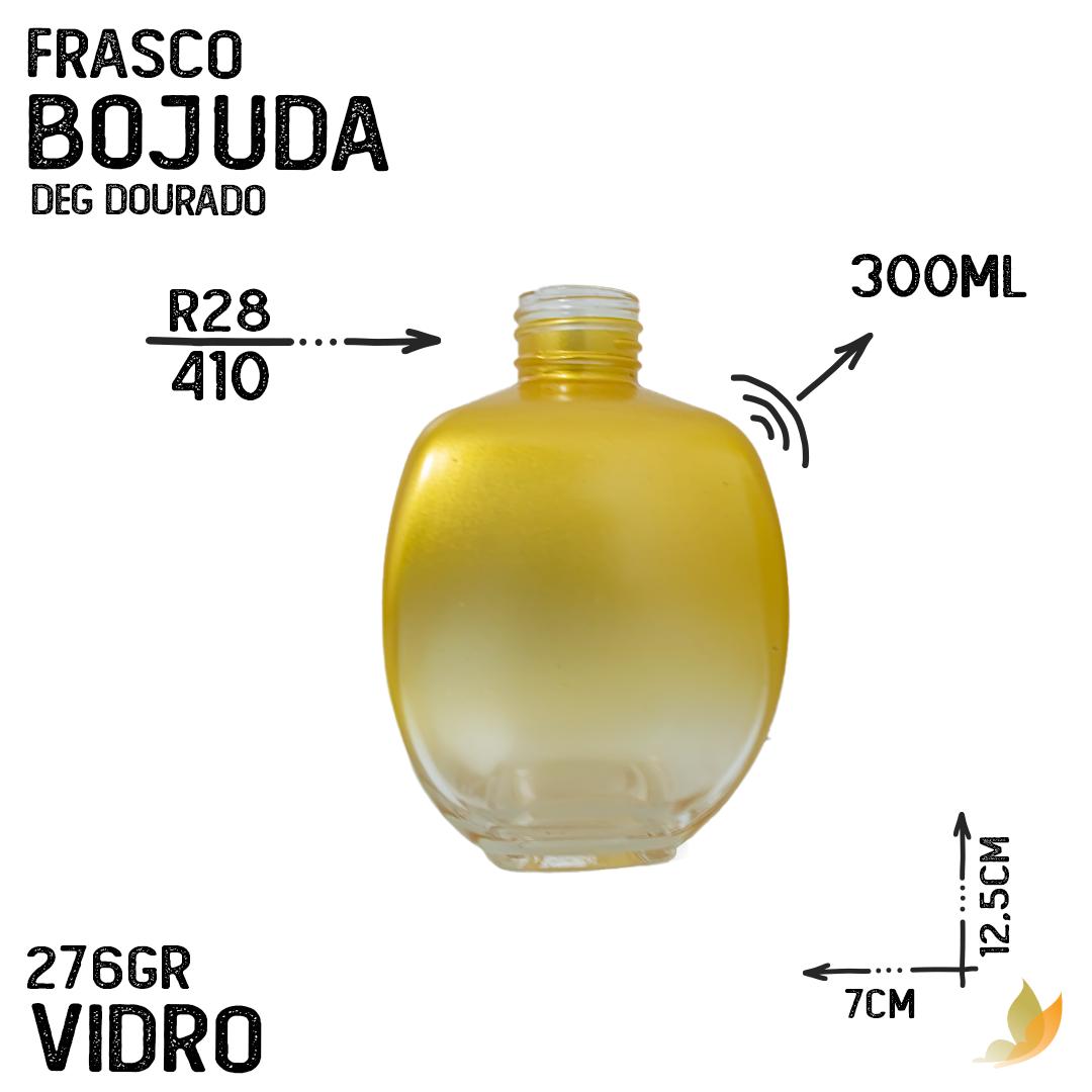 FRASCO BOJUDA R28 DEGRADE DOURADO 300ML