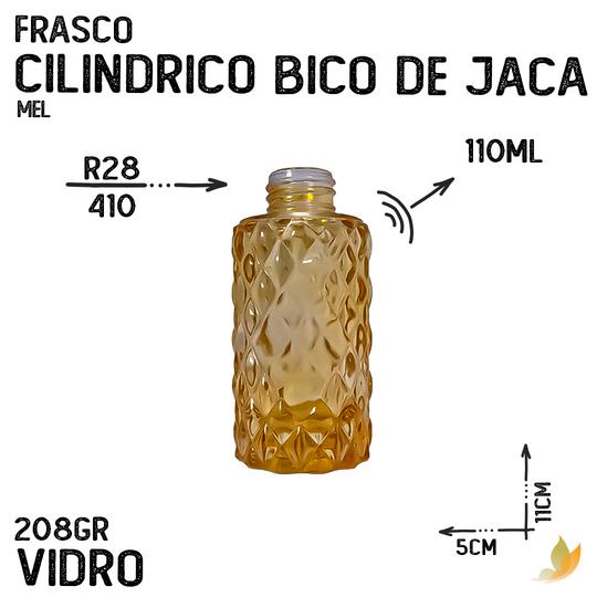 FRASCO CILINDRICO BICO DE JACA R28 MEL 110ML