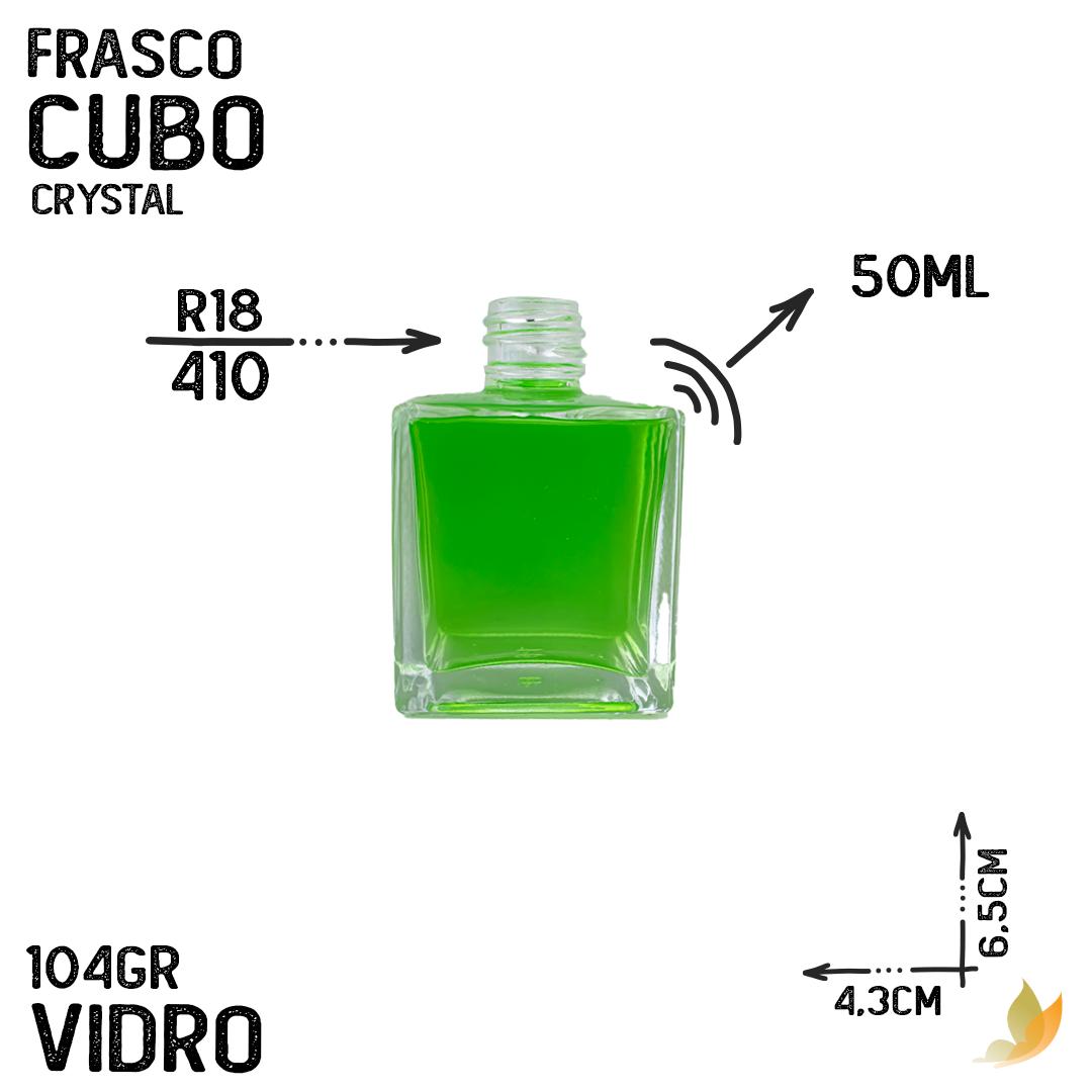 FRASCO CUBO R18 CRYSTAL 50ML
