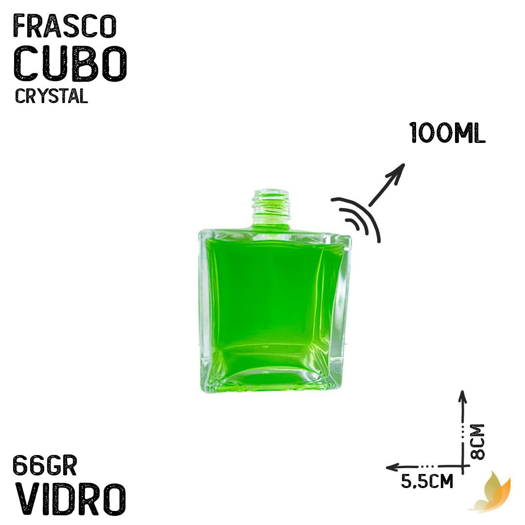 FRASCO CUBO R28 CRYSTAL 100ML