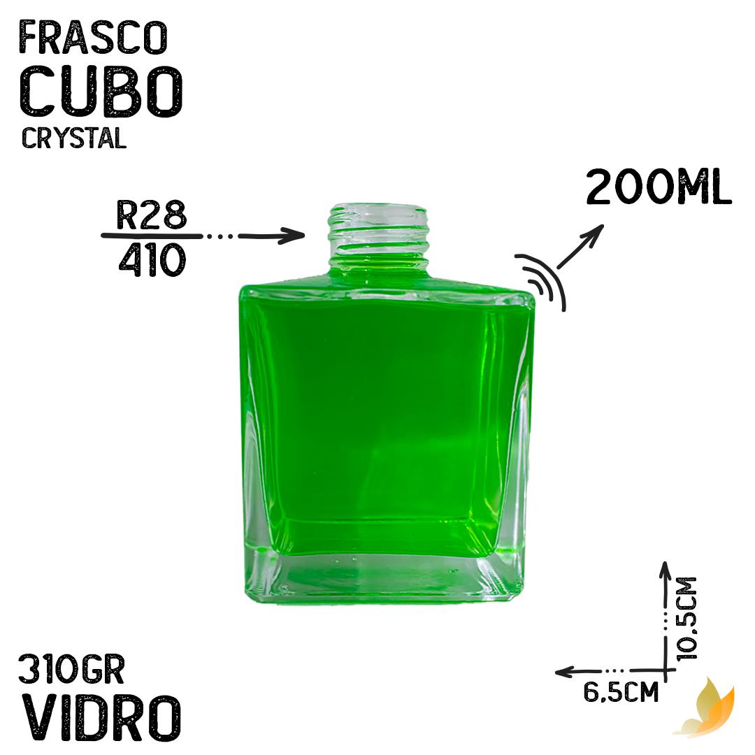 FRASCO CUBO R28 CRYSTAL 200ML