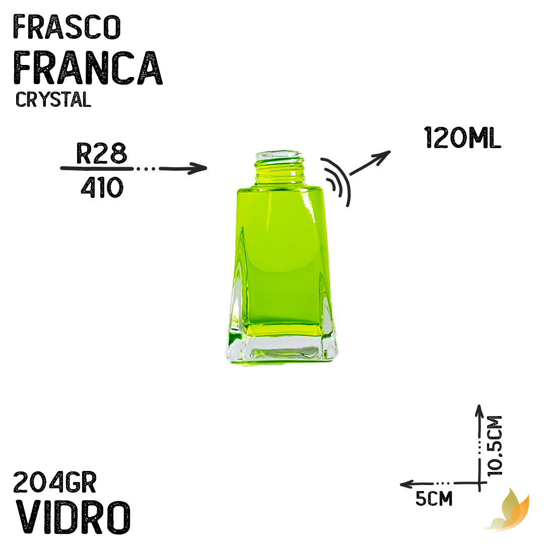FRASCO FRANCA R28 CRYSTAL 120ML