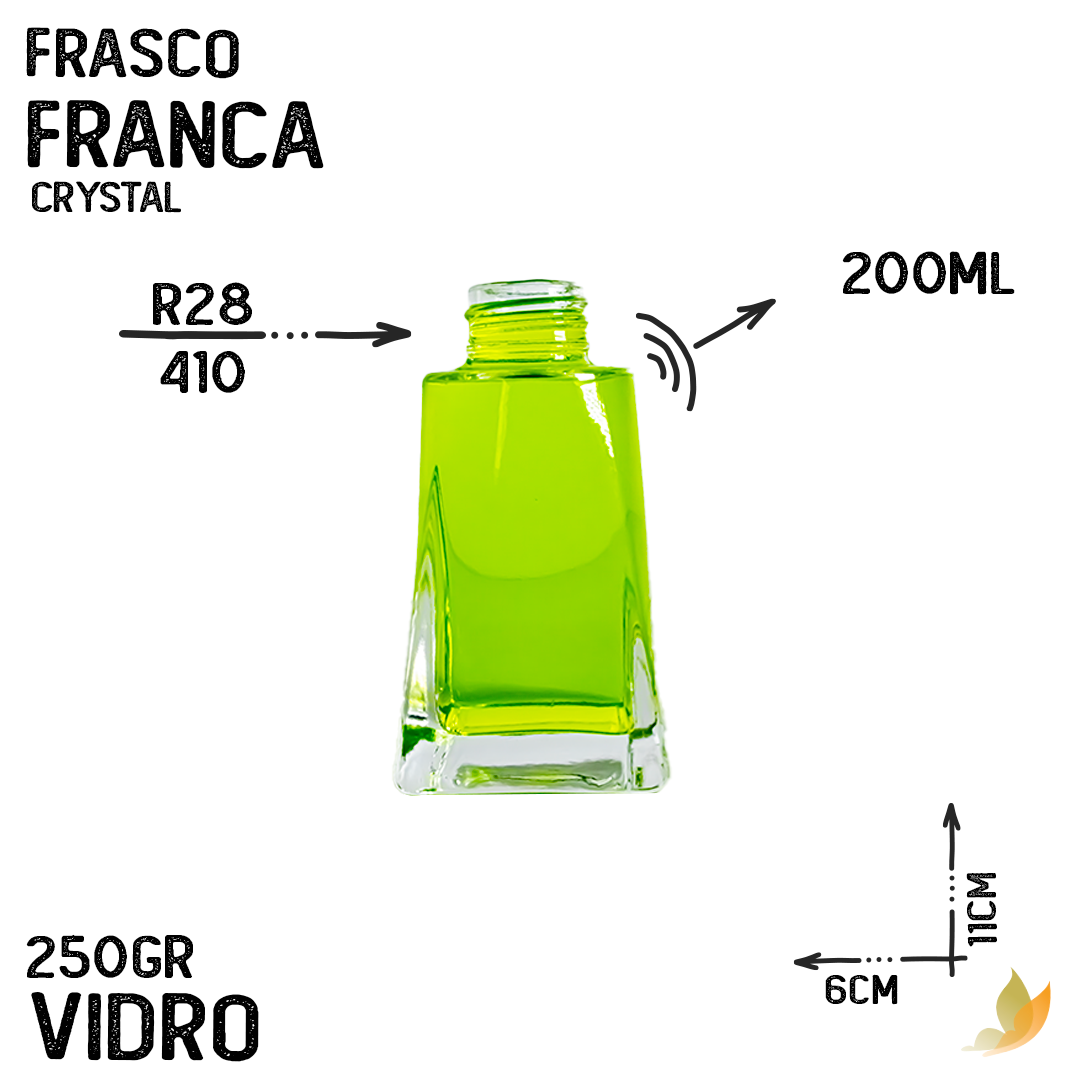 FRASCO FRANCA R28 CRYSTAL 200ML