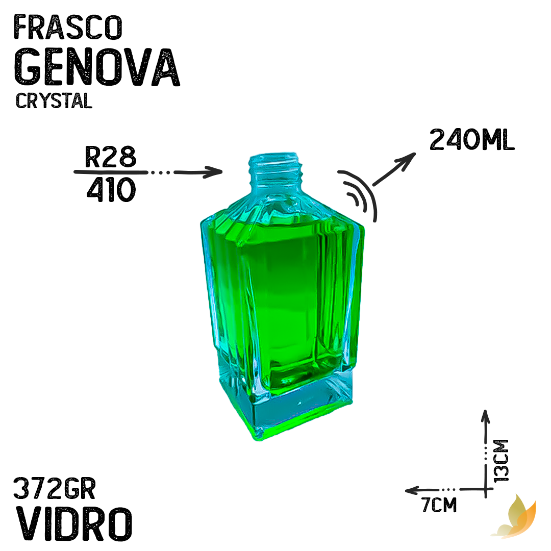 FRASCO GENOVA R28 CRYSTAL 240ML