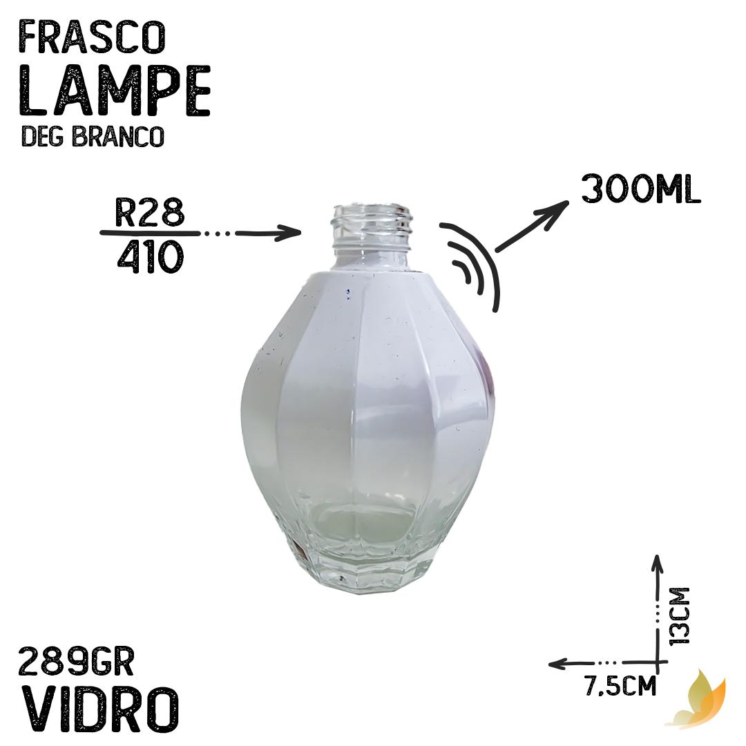 FRASCO LAMPE R28 DEGRADE BRANCO 300ML