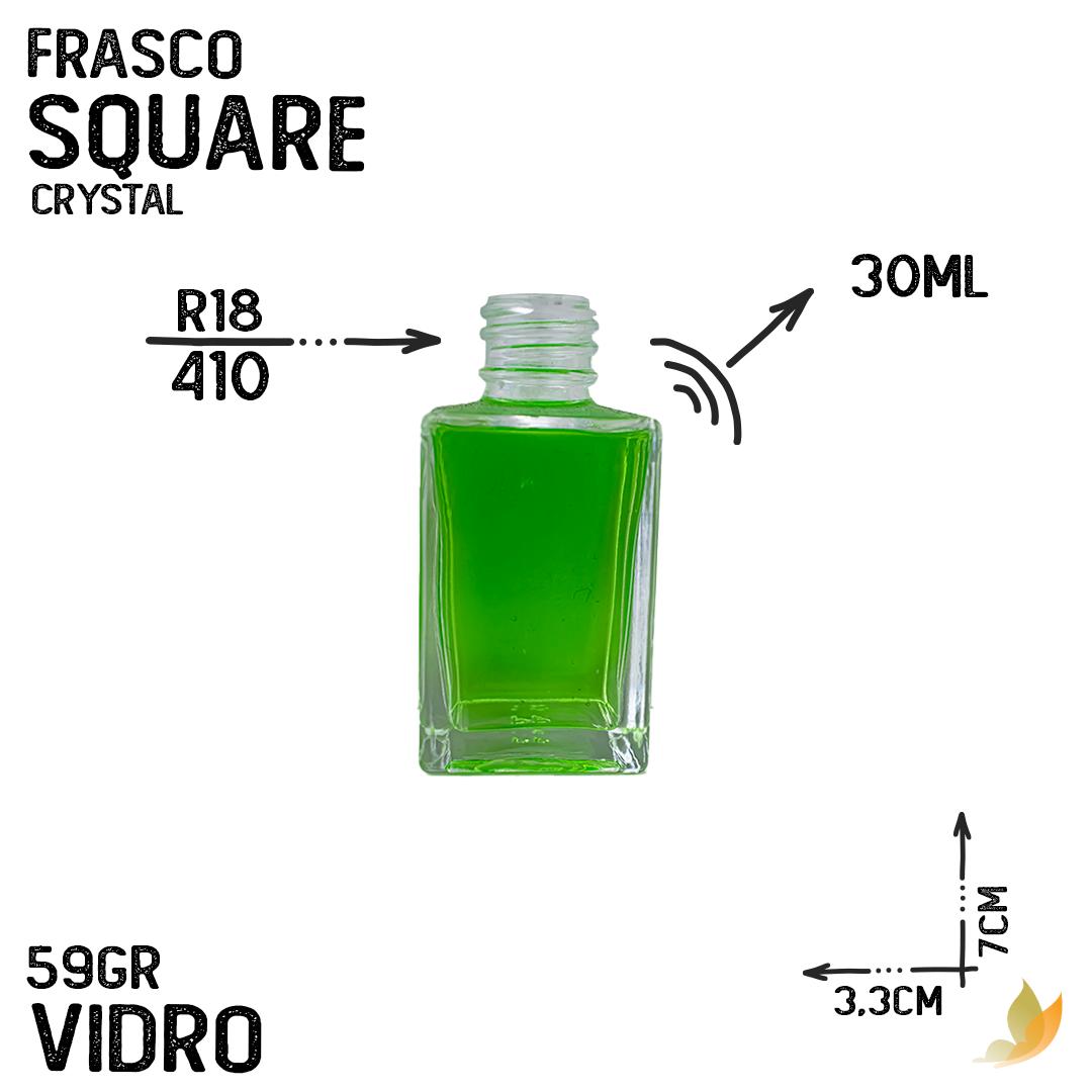 FRASCO MINI SQUARE R18/415 CRYSTAL 30ML