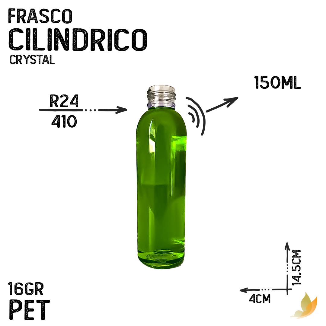 FRASCO PET CILINDRICO R24 150ML