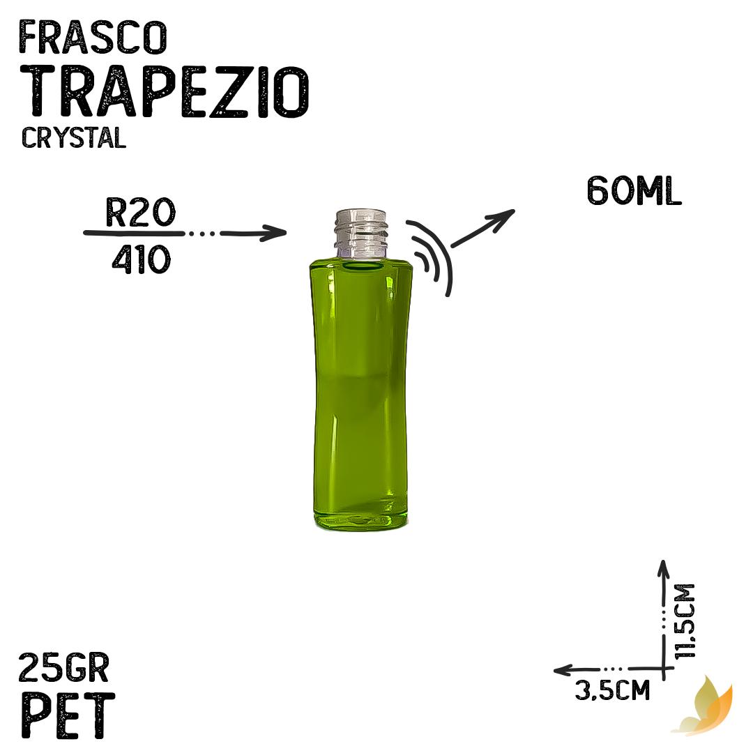 FRASCO PET TRAPEZIO R20 60ML