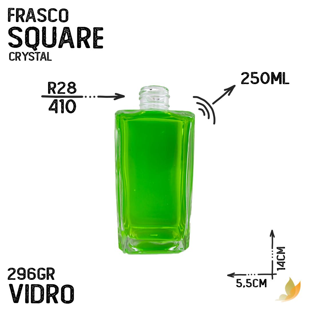 FRASCO SQUARE R28 CRYSTAL 250ML