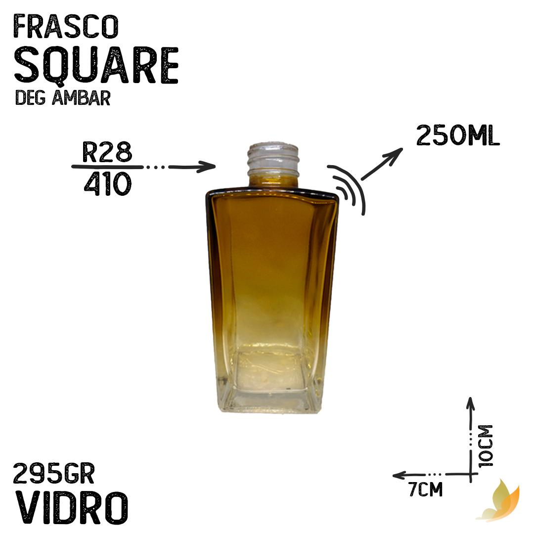 FRASCO SQUARE R28 DEGRADE AMBAR 250ML