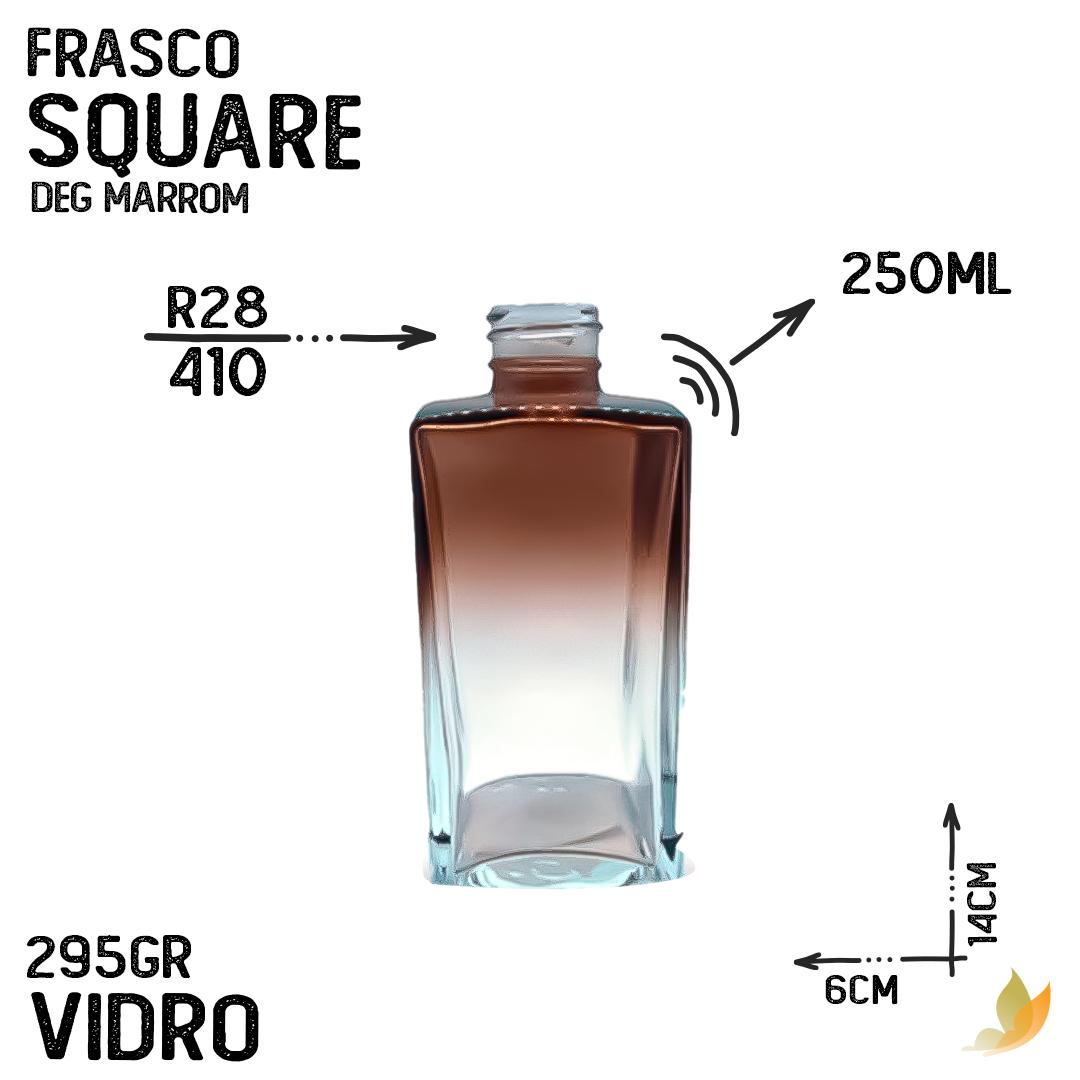 FRASCO SQUARE R28 DEGRADE MARROM 250ML