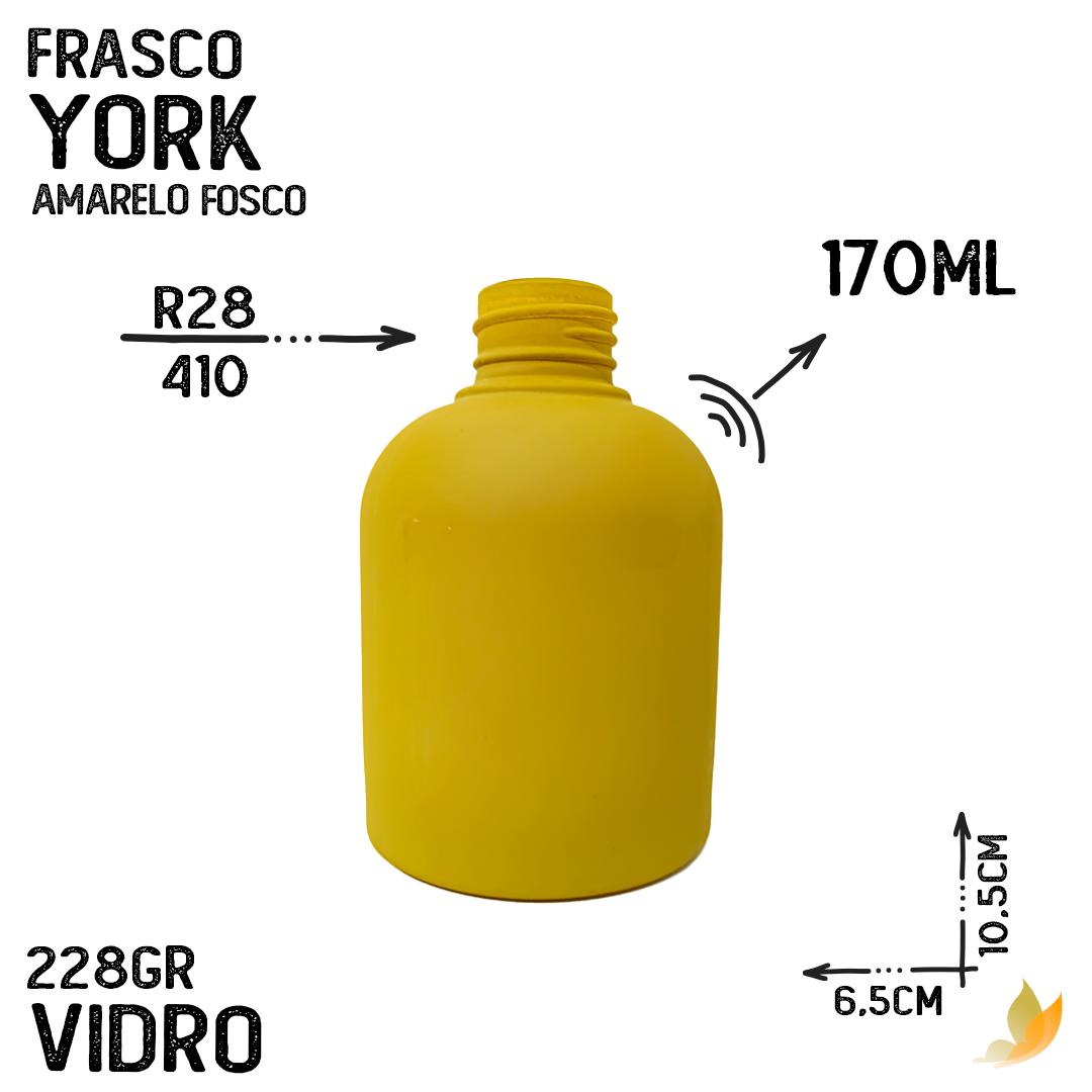 FRASCO YORK R28/410  AMARELO FOSCO 170ML
