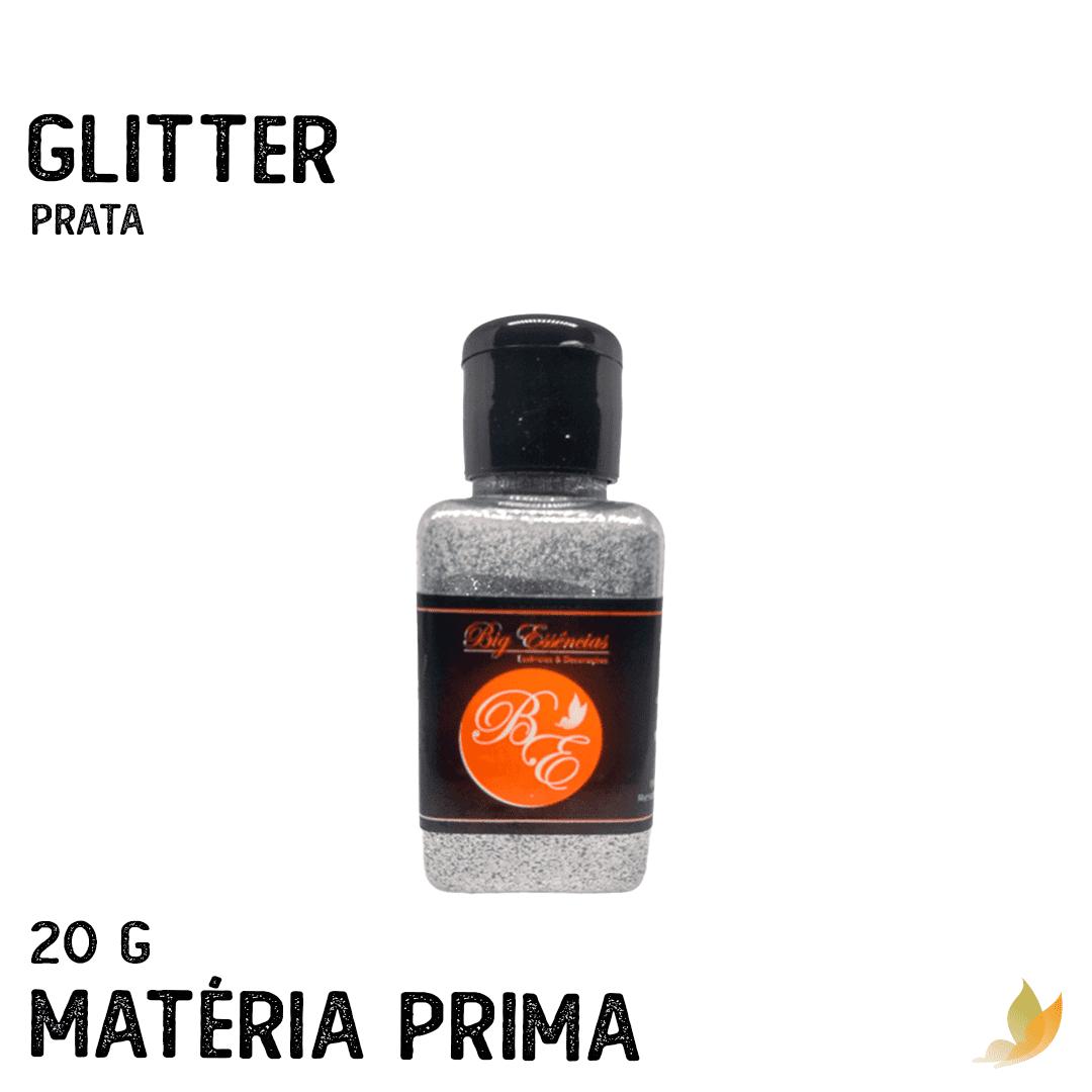 GLITTER PRATA 20GR