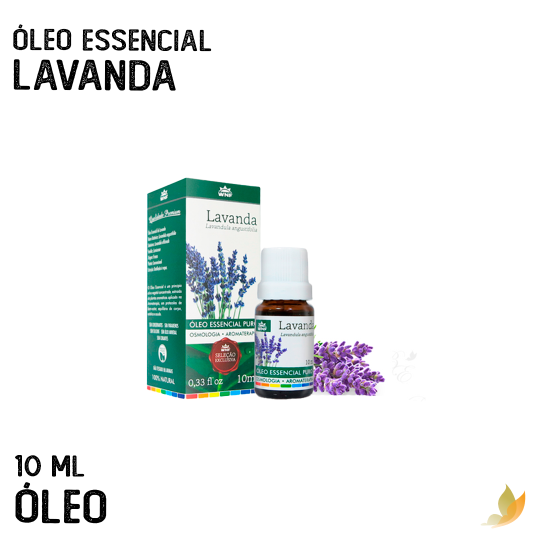 OLEO ESSENCIAL LAVANDA 10 ML