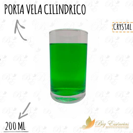 PORTA VELA CILINDRICO 200ML
