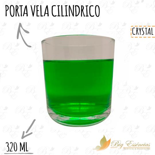 PORTA VELA CILINDRICO 320ML