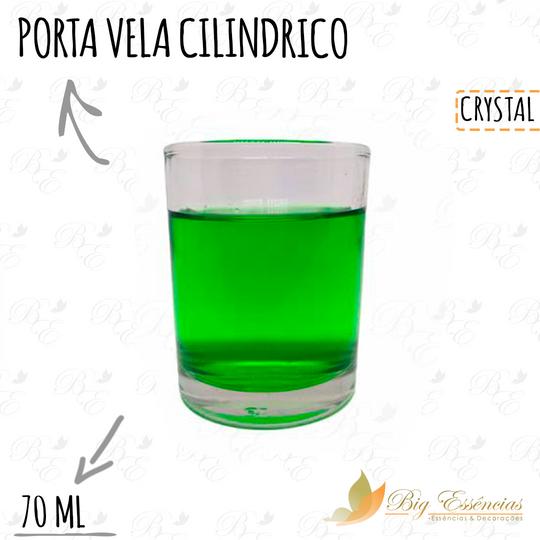 PORTA VELA CILINDRICO 70ML