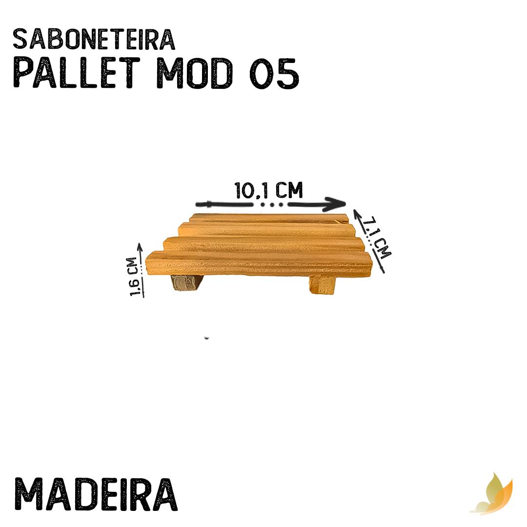 SABONETEIRA PALLET MOD 05 9,5C X 6,5L X 1,5A