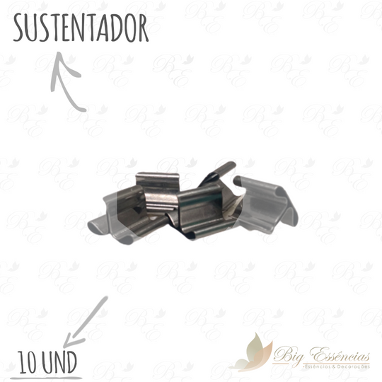 SUSTENTADOR DE PAVIO P/VELA  - 10UNID