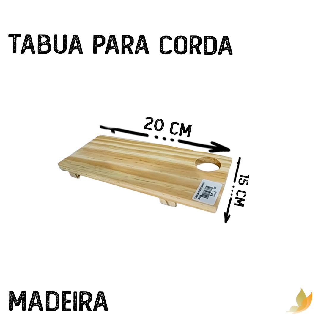 TABUA PARA CORDA 20CM