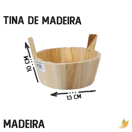 TINA DE MADEIRA 6X14