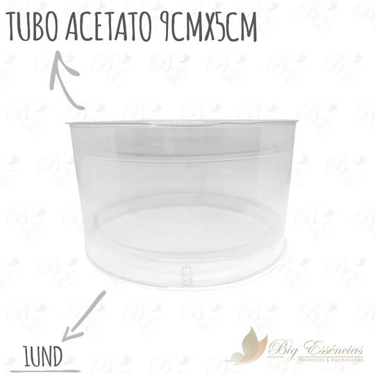 TUBO ACETATO 9 X 5 CM