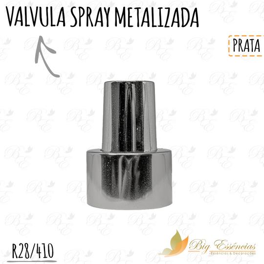 VALVULA SPRAY R28/410 CROMADA