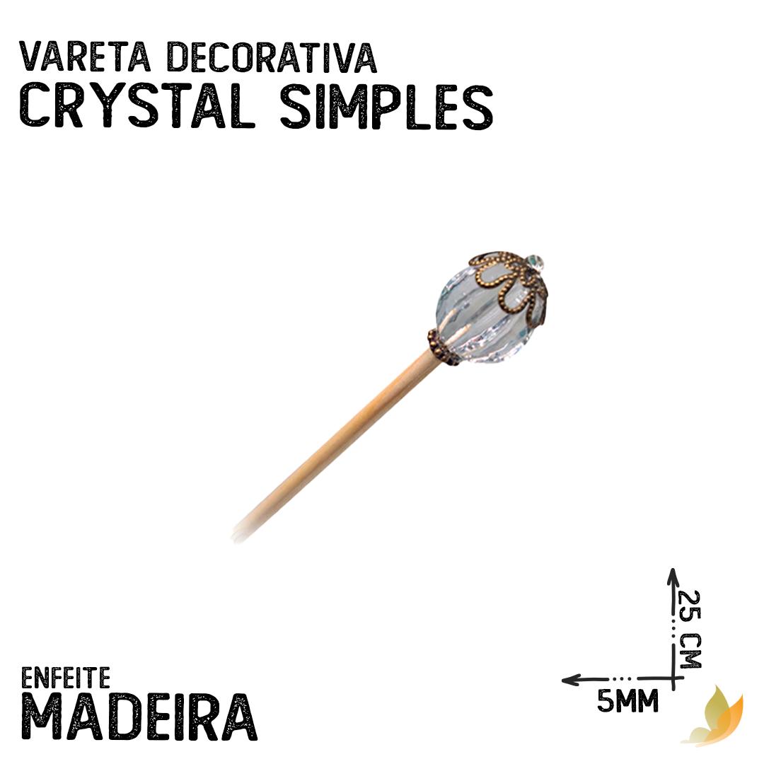 VARETA DECORATIVA CRYSTAL SIMPLES
