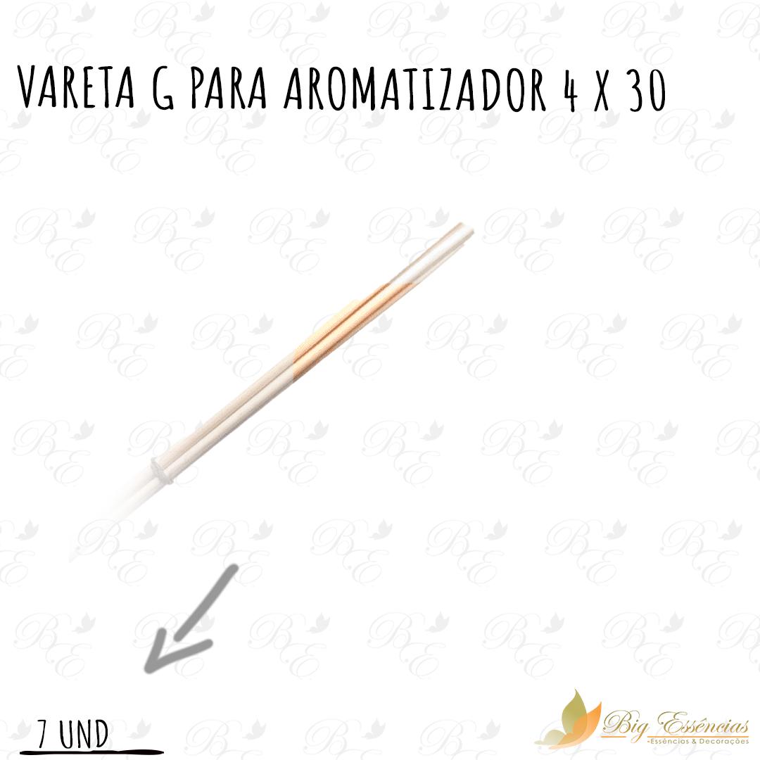 VARETA G PARA AROMATIZADOR 4 X 30 CONJUNTO C/7