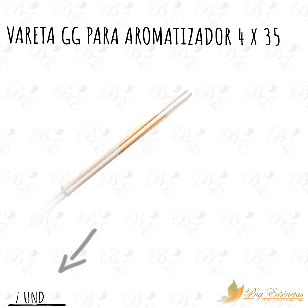 VARETA GG PARA AROMATIZADOR 4 X 35 CONJUNTO C/7