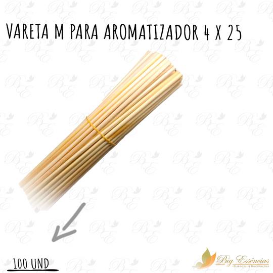 VARETA M PARA AROMATIZADOR 4 X 25 CENTO (100unid)