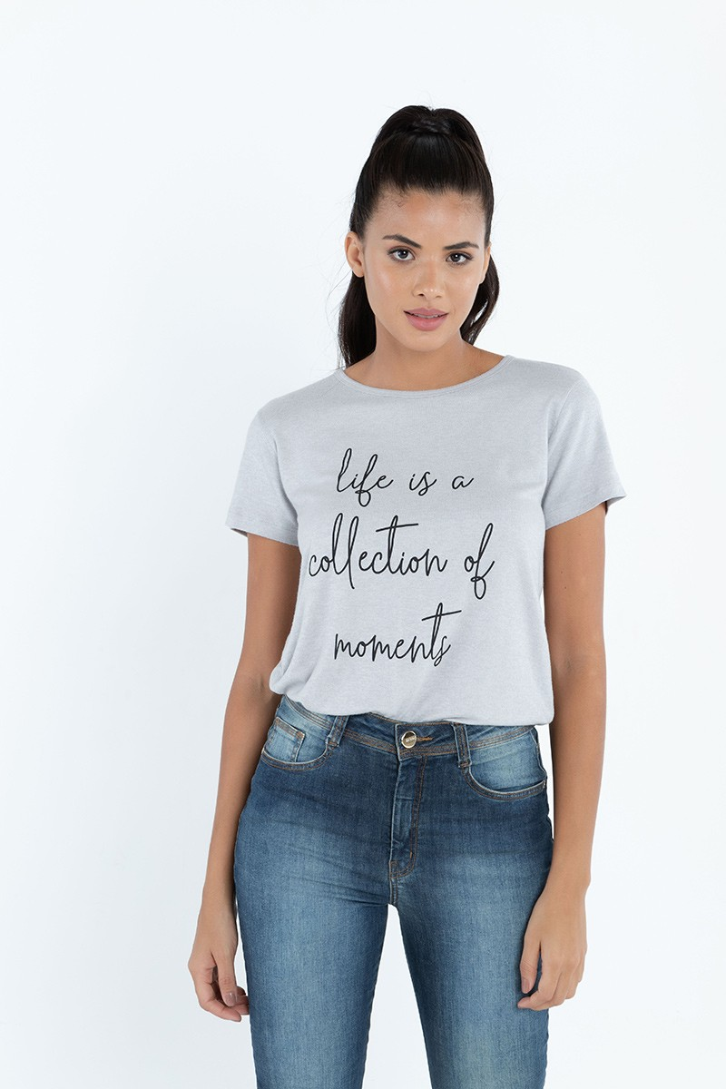 BLUSA LIFE IS A COLLECTION OF MOMENTS