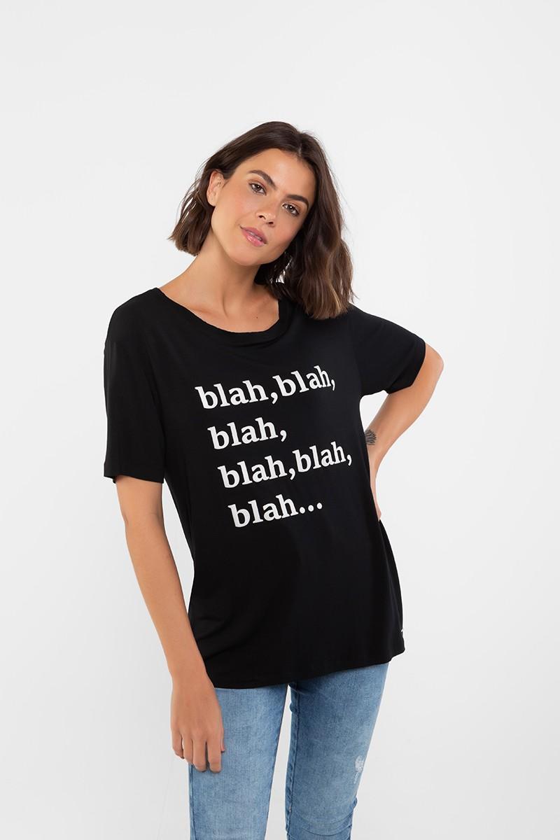 CAMISETA BLAH, BLAH, BLAH...