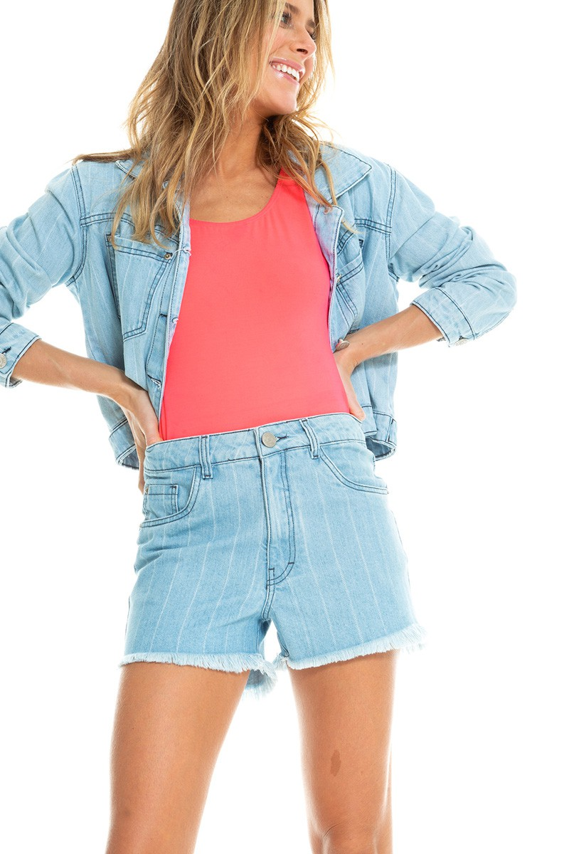 SHORTS JEANS RISCA
