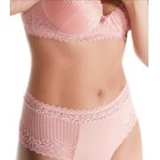 Calcinha cintura alta com faixa rendada