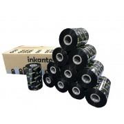 Ribbon Cera 110x450m para - Zebra - Datamax - Elgin - Caixa com 12