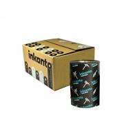 Ribbon Misto 110x450m para - Zebra - Datamax - Elgin - Caixa com 12